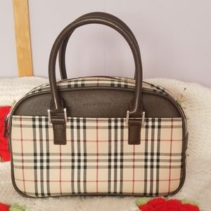 Authentic Vintage Burberry Handbad